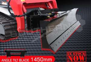 1450mm 6 Way Angle TILT Dozer Blade Suit BOBCAT