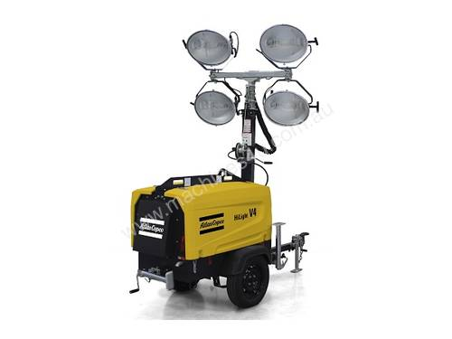 Mobile Lighting Tower HiLight V4  sc 1 st  Machines4u & Mobile Lighting Towers Perth : Mobile Lighting Towers for sale ... azcodes.com