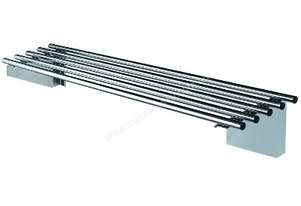 Simply Stainless 2100x300mm Pipe Wall Shelf