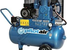 K25SDL Super Duty Air Compressor 100 Litre Tank / 3hp 13.1 / 371lpm Displacement - picture0' - Click to enlarge