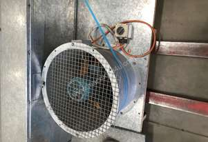 Extraction Fan & 560mm Diameter Duct