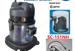 TCS Commercial 15L Water Filtration Dry Vacuum Cleaner 1000W Ametek Motor