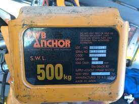 500kg PWB Anchor Hoist ,500kg Hitachi hoist - picture0' - Click to enlarge