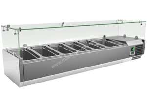 EXQUISITE COMMERCIAL KITCHEN INGREDIENT COUNTER TOP CHILLERS