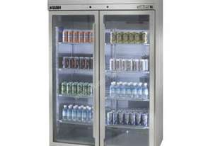 Williams HPS2GDSS Pearl Star Glass 2 Door Refrigerator