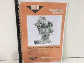 Wood Machinery MANUALS - picture1' - Click to enlarge