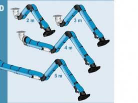 200mm Heavy Duty Extraction Arm - picture0' - Click to enlarge