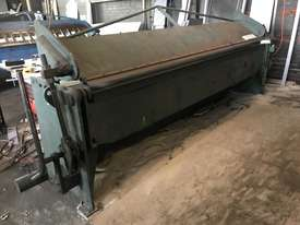 Just In - KLEEN 3050mm x 2mm Hydraulic Folder - Reduced For Quick sale - picture0' - Click to enlarge