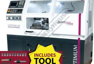 L33HS OPTi-Turn Optimum CNC Lathe Package Deal 330 x 630mm Turning Capacity