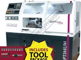 L33HS OPTi-Turn Optimum CNC Lathe Package Deal 330 x 630mm Turning Capacity - picture0' - Click to enlarge
