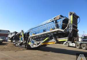 2013 WIRTGEN KLEEMANN MS19D TRACK MOUNTED SCREENING PLANT