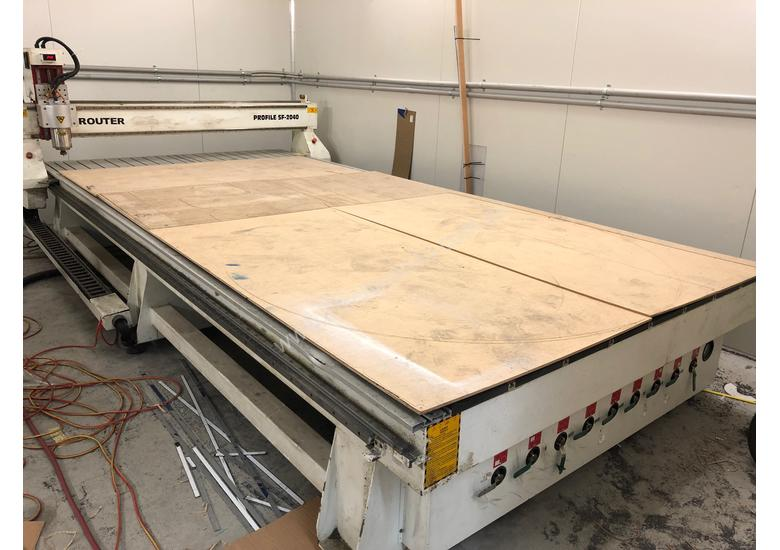 Large 4000x2000mm CNC machine