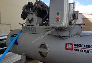 INGERSOLL-RAND 10hp Piston Compressor, H/Duty, 4 Pistons, Slow Revving - SOLD 12/10/18. AIR DRYERS