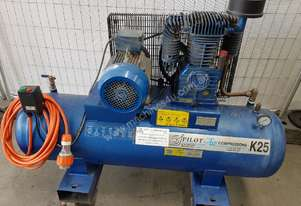 PILOT K25 COMPRESSOR 4KW $1,800. AIR TANKS & DRYERS. We BUY, SELL & TRADE-IN Compressors etc