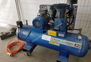 PILOT K25 COMPRESSOR 4KW $1,500. AIR TANKS/DRYERS/OIL SEPARATOR/PARTS. WE BUY, SELL & TRADE