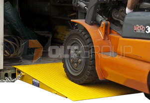 New Forklift Container Ramp 6500kg WLL 1.5m long 6.5 Tonne Capacity