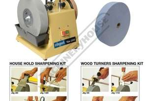 TiGer 2500 Wetstone Grinder + Wood Turners + Household Kits & Spare Grinding Wheel Package Deal Ø25