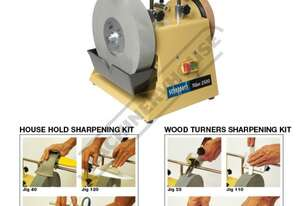 TiGer 2500 Wetstone Grinder + Wood Turners & Household Sharpening Kits Package Deal Ø250 x 50mm Gri