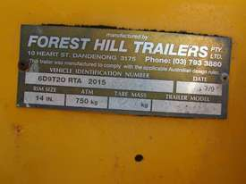 2009 TRAILER MOUNTED TRAFFIC ARROW DIRECTIONAL BOARD - picture3' - Click to enlarge