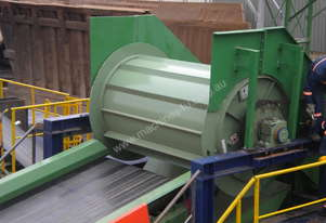 Magnetic Drum for sorting ferrous metals