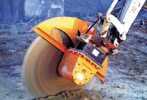 Echidna D1S/100 Diamond Rock Saw - Excavators 3 to 4 tonnes