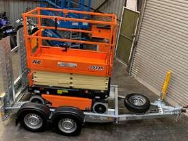 New 2019 JLG 1932R 19' Scissor lift with Galvanize Trailer  - picture2' - Click to enlarge