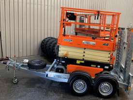 New 2019 JLG 1932R 19' Scissor lift with Galvanize Trailer  - picture3' - Click to enlarge