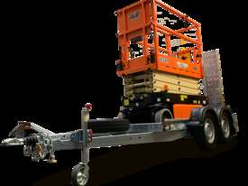 New 2019 JLG 1932R 19' Scissor lift with Galvanize Trailer  - picture1' - Click to enlarge