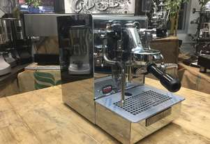 EXPOBAR OFFICE LEVA 1 GROUP BRAND NEW STAINLESS STEEL ESPRESSO COFFEE MACHINE