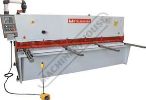 HG-3206 Hydraulic NC Swing Beam Guillotine - Deluxe 3200 x 6mm Mild Steel Shearing Capacity 1-Axis E