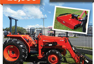 Kubota   TRACTOR 36HP & SLASHER