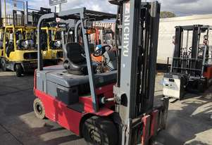 Used nichiyu for sale - 2.5T 4 Wheel Electric Forklift