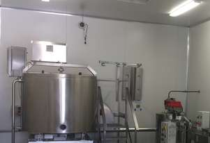 Batch pasteuriser with self contained boiler