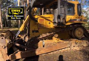 1986 CAT D6H Dozer with Rippers & Hyster winch. MS557