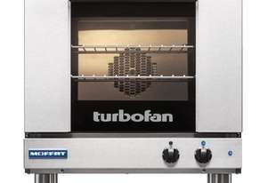 TURBOFAN E23M3 - 3 HALF SIZE TRAY MANUAL ELECTRIC CONVECTION OVEN