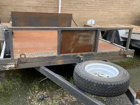 Cattanach Grey Single Axle Mower Trailer - picture2' - Click to enlarge
