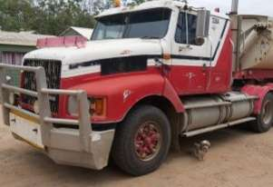 1995 International S-Line Truck with 2010 Azmeb Side-Tipper Trailer