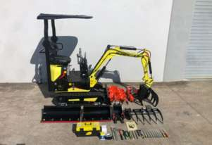 HAIHONG 1T MINI EXCAVATOR WITH SWING BOOM ALL SOLD OUT OF STOCK UNTILL 20 JUNE 2020