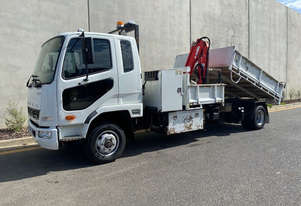 Mitsubishi Fighter Tipper Truck