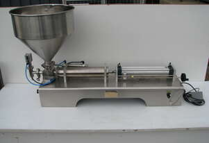 Stainless Steel Single Head Piston Filler 100-1000ml