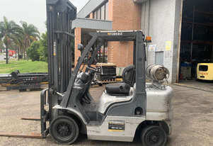 2.5 Tonne Nissan Forklift For Sale!