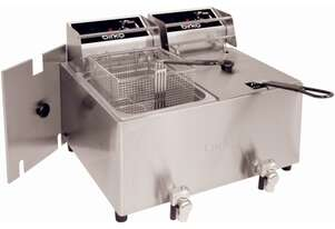 Birko   1001004 Double Fryer 8L