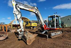 2017 TAKEUCHI TB290 9T EXCAVATOR WITH LOW 1300 HOURS