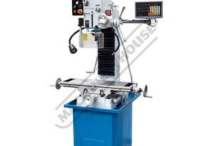 HM-47B Mill Drill - Geared & Tilting Head with Digital Readout System Table Travel: (X) - 540mm (Y)