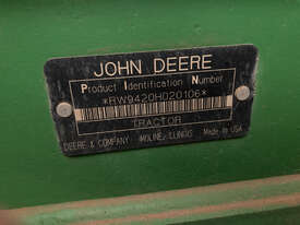 John Deere 9420 FWA/4WD Tractor - picture1' - Click to enlarge