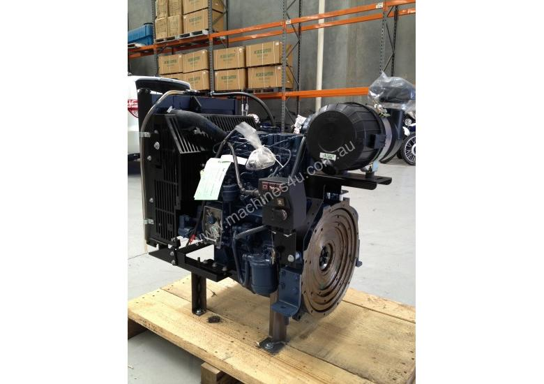 VM Motori Water-Cooled D703TE Diesel Engine - 71 HP
