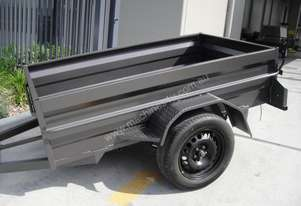 BRAND NEW 8x5 HEAVY DUTY HIGH SIDE BOX TRAILER