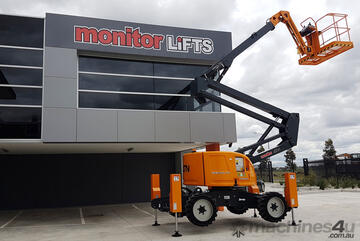 Monitor Zebra 16RT Jack Boom - 16m 4WD Diesel Knuckle Boom with outrigger legs