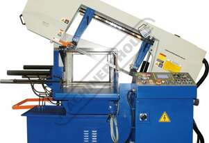 BS-460FAS NC Swivel Head Metal Cutting Band Saw - Automatic Hitch Feed Inverter Variable Blade Speed