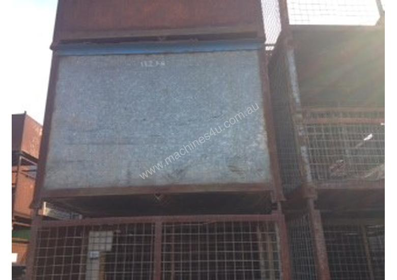 Used Cde Used Large Drop Side Stillages Metal Bins In